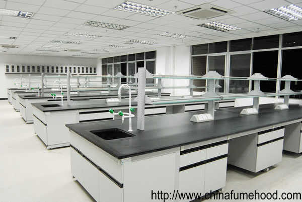 All Steel Lab Furniture , Metal Reagent Rack Laboratory Wall Cabinets