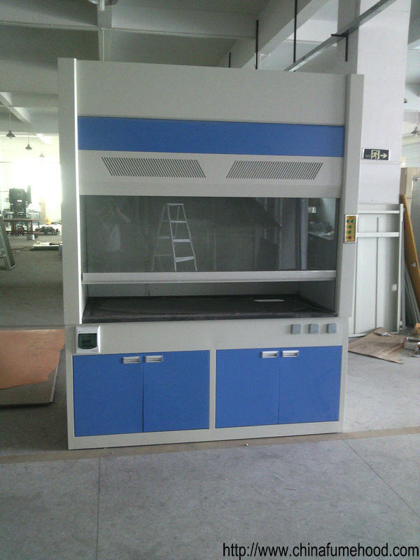 Cold Rolled Steel Fume Hood , Chemical Scientists Lab Fume Cupboard