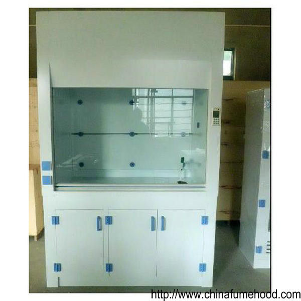 2350mm Height 6' Ducted Fume Cupboard Full Cover Lighting With Exhaust Fan