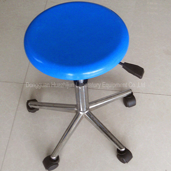 Height Adjustable Lab Chairs And Stools , Cleanroom Lab Chairs With Wheels