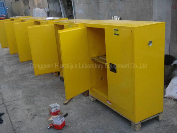 Fully Welded Chemical Safety Cabinet Add Fire Cotton Three Point Linkage Lock