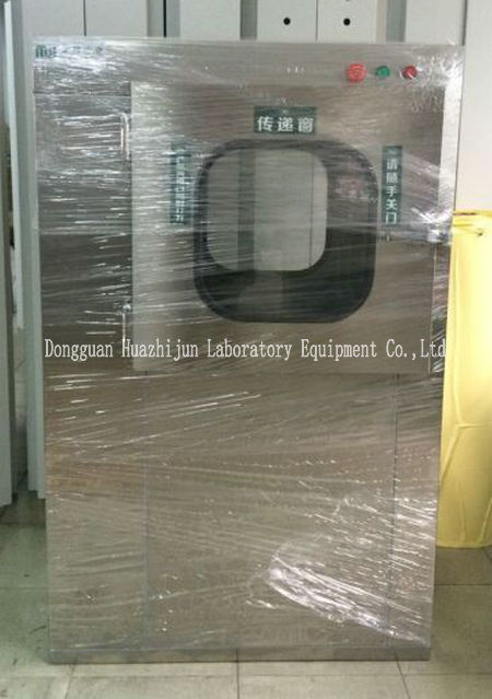 Electronic Interlocking Clean Room Equipment Air Shower Electrostatic Spray Surface