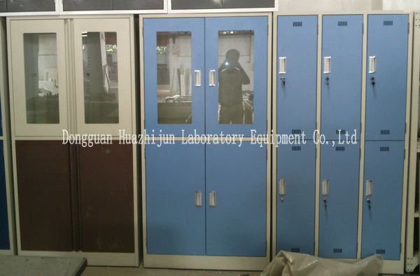 Lockable Steel Storage Cabinets With Doors / DTC Hinges Acid Resistance