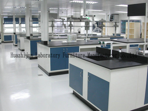 Alkali Resistant Metal Lab Casework With Single / Double Drip Rack