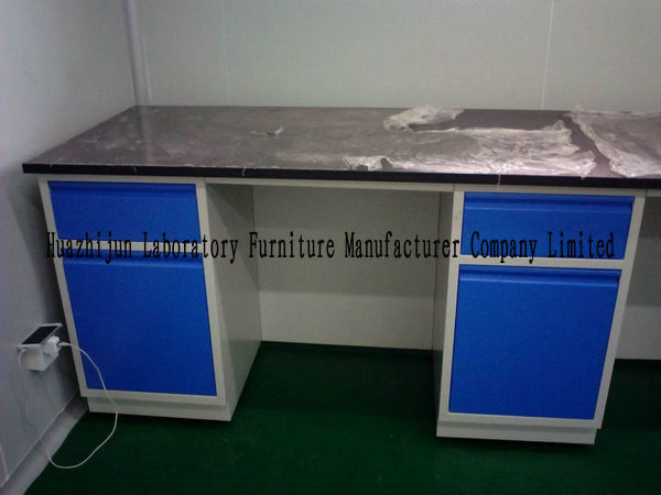 Steel Lab Bench In Lab Project / Steel Lab Table With Sink Table / Steel Lab Furniture