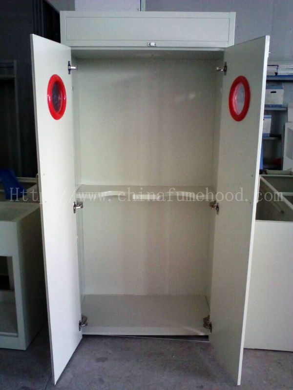 Smooth Opening Laboratory Storage Cabinets Sound / Light Alarm For Gas Cylinder