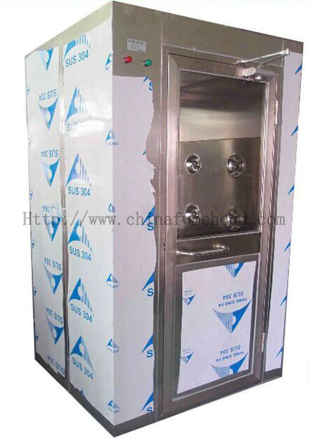 High Speed Clean Air Shower Unit Single  / Double Door Intelligent Automatic Blowing